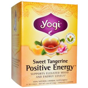 Yogi Tea Positive Energy 表